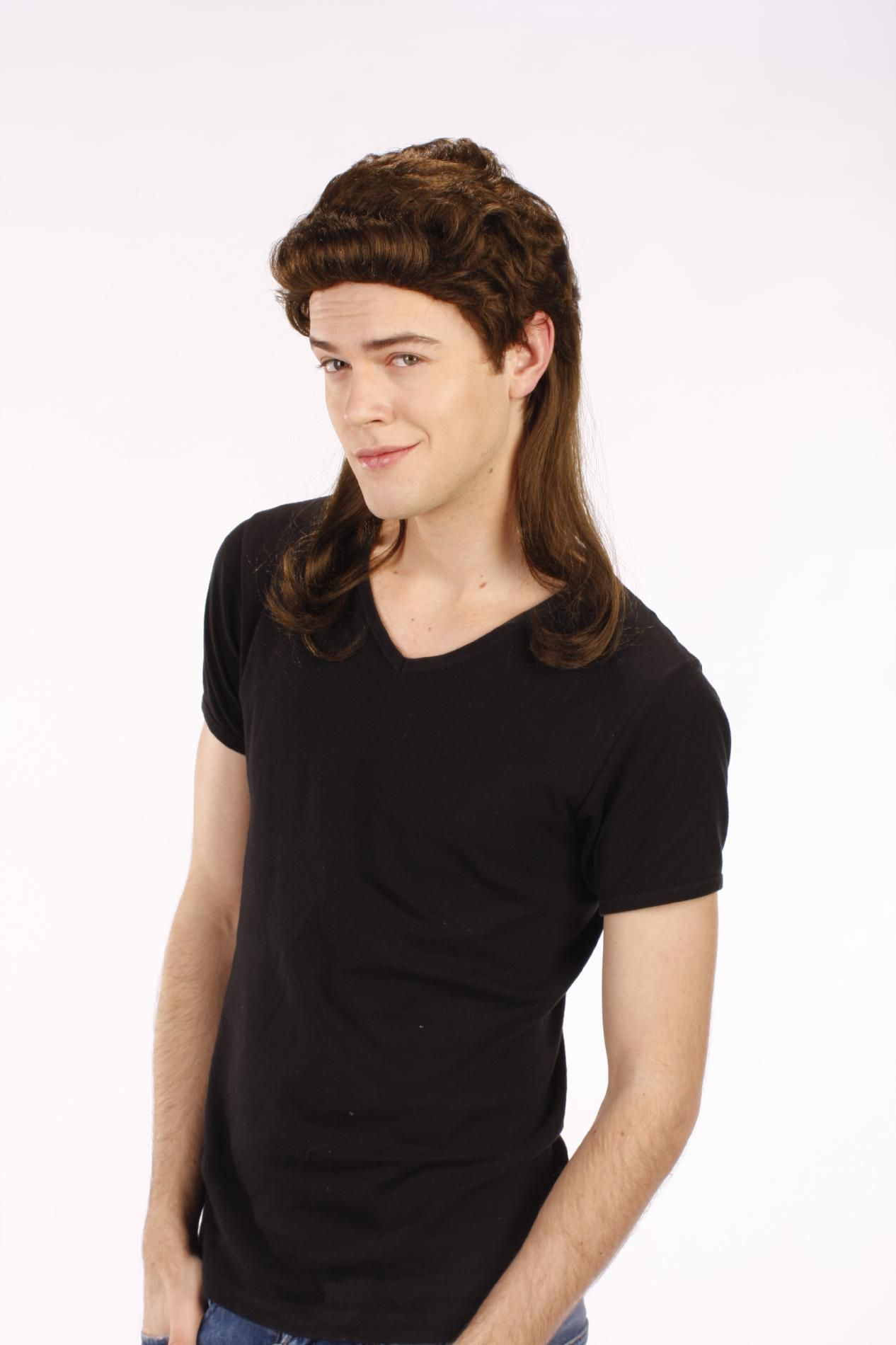 Mullet Wig Halloween Costume Accessory