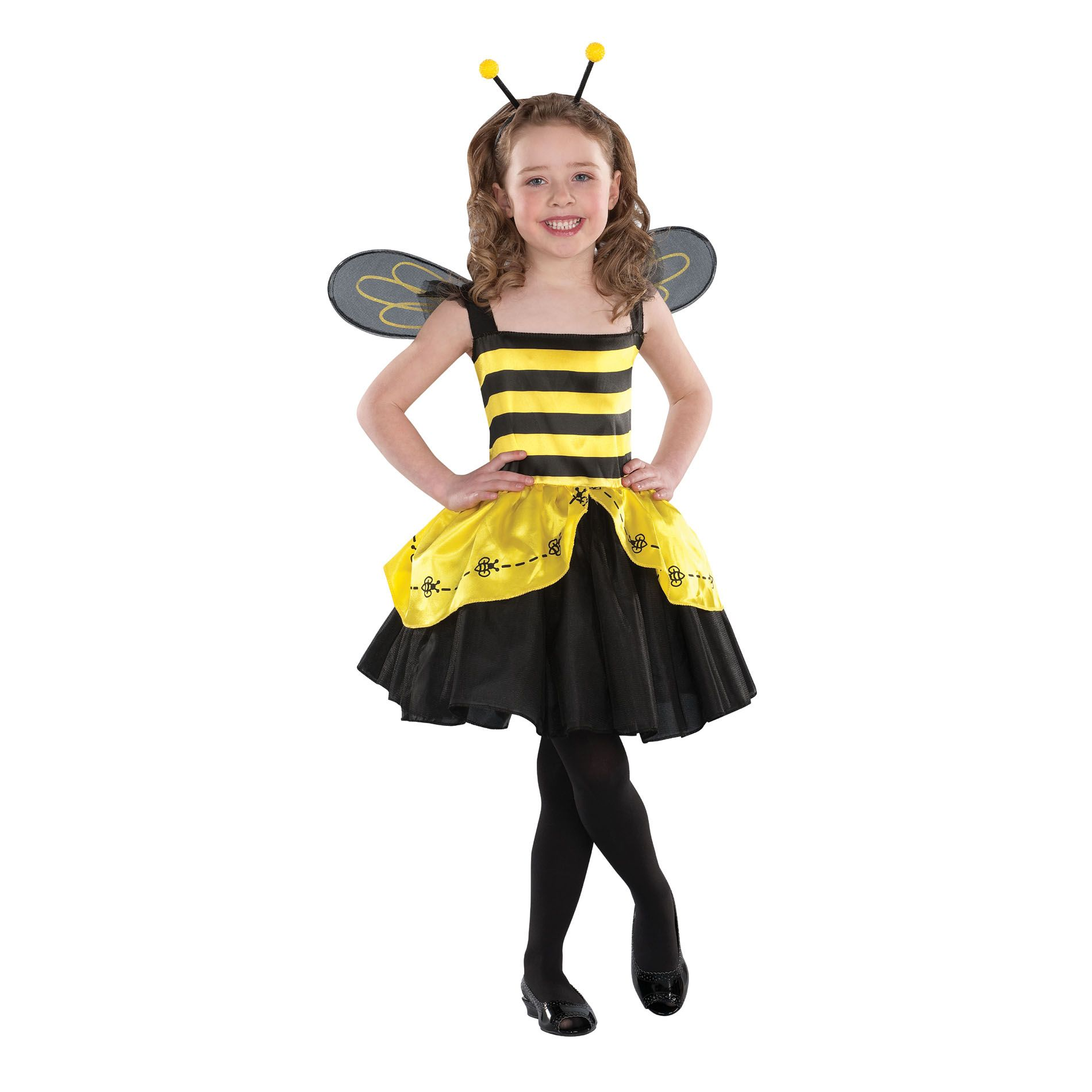 Totally Ghoul  Girl Halloween Bee Costume