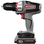 Craftsman Bolt-On ™ 20 Volt MAX* Drill Driver Kit and Hammer Drill Head Bundle at Kmart.com