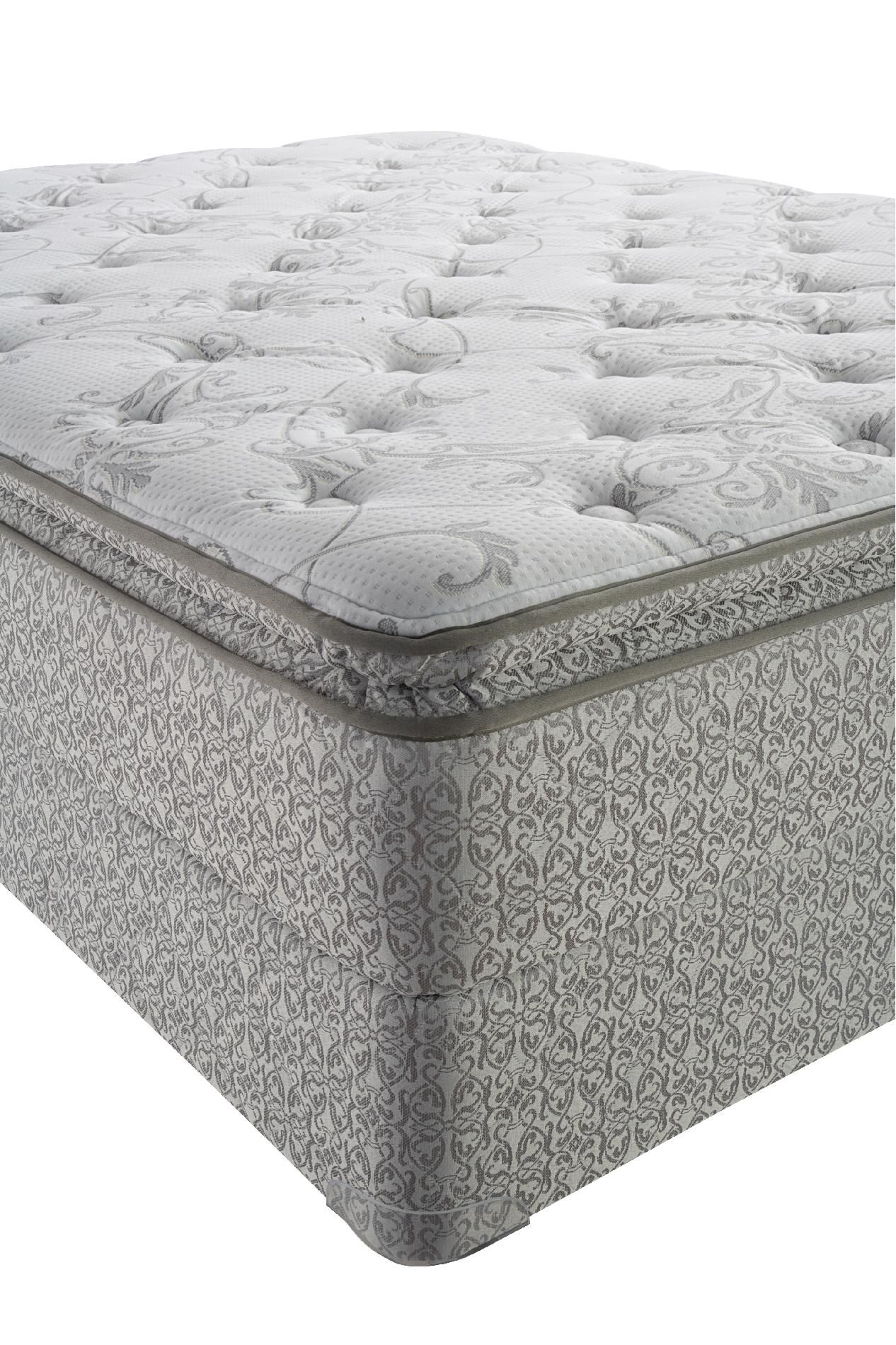 Delphi Select Plush Euro Pillowtop Cal King Mattress Only