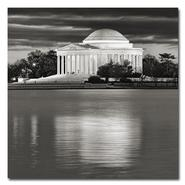 Trademark Fine Art Gregory O'Hanlon 'Jefferson Memorial- Night' Canvas Art at Kmart.com