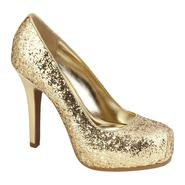 Sofia by Sofia Vergara Women's Monroe Dress Pump - Gold Glitter at Kmart.com