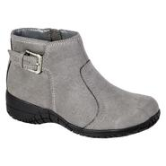 Basic Editions Women's Fawn Fashion Boot Wide Width - Grey at Sears.com