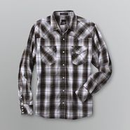 Various Designers Young Men's Button Down Shirt - Plaid at Sears.com