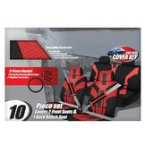 13 piece Car Make-over Kit w/ Red Accents at mygofer.com