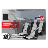 13 piece Car Make-over Kit Black/grey Microfiber at mygofer.com