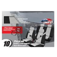 Pilot Automotive 13 piece Car Make-over Kit Black/grey Microfiber at Sears.com