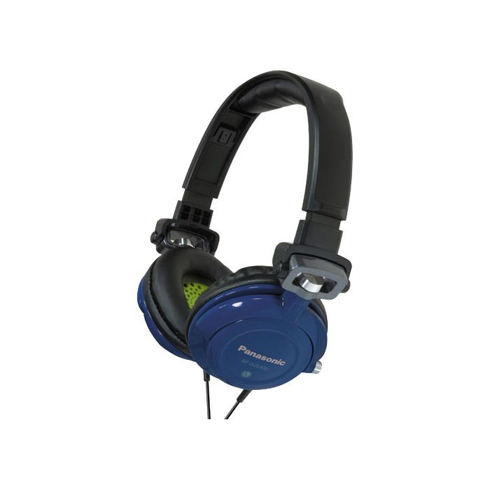 Panasonic RP-DJS400 Headphones - Blue