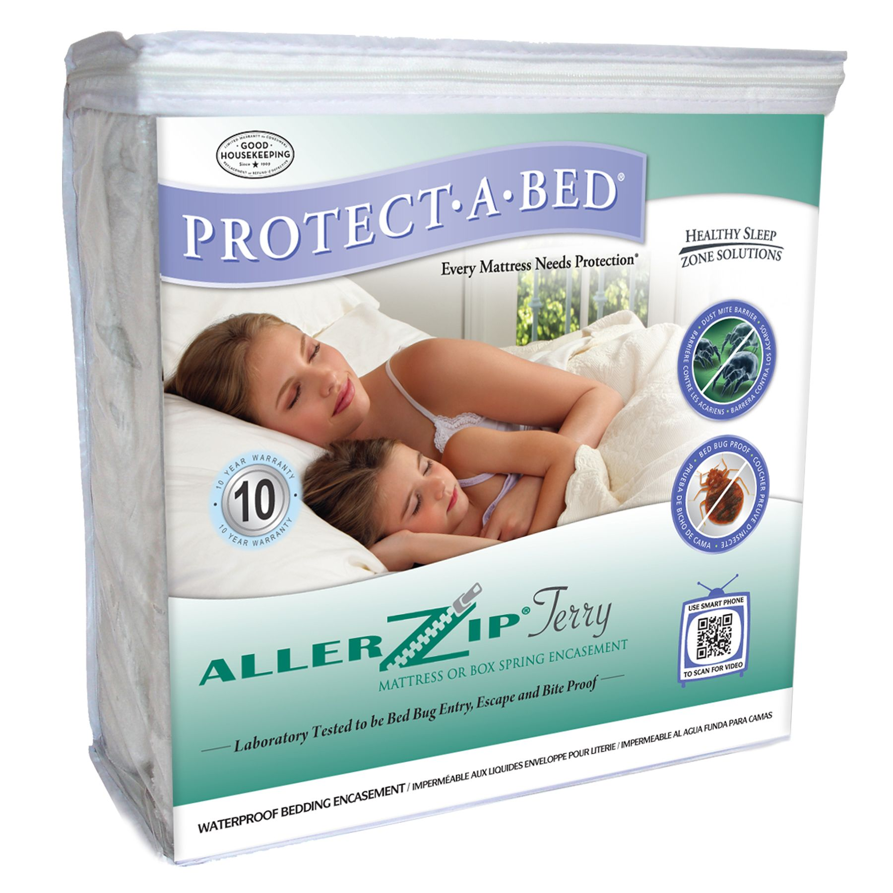 ALLER ZIP (TERRY) Mattress or Box Spring