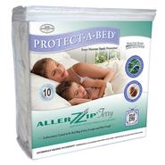 Protect-A-Bed AllerZip Terry California King Mattress or Box Spring Encasement at Sears.com