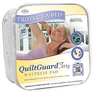 Protect-A-Bed QuiltGuard Terry California King Mattress Pad at Sears.com