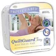 Protect-A-Bed QuiltGuard Terry King Mattress Pad at Sears.com