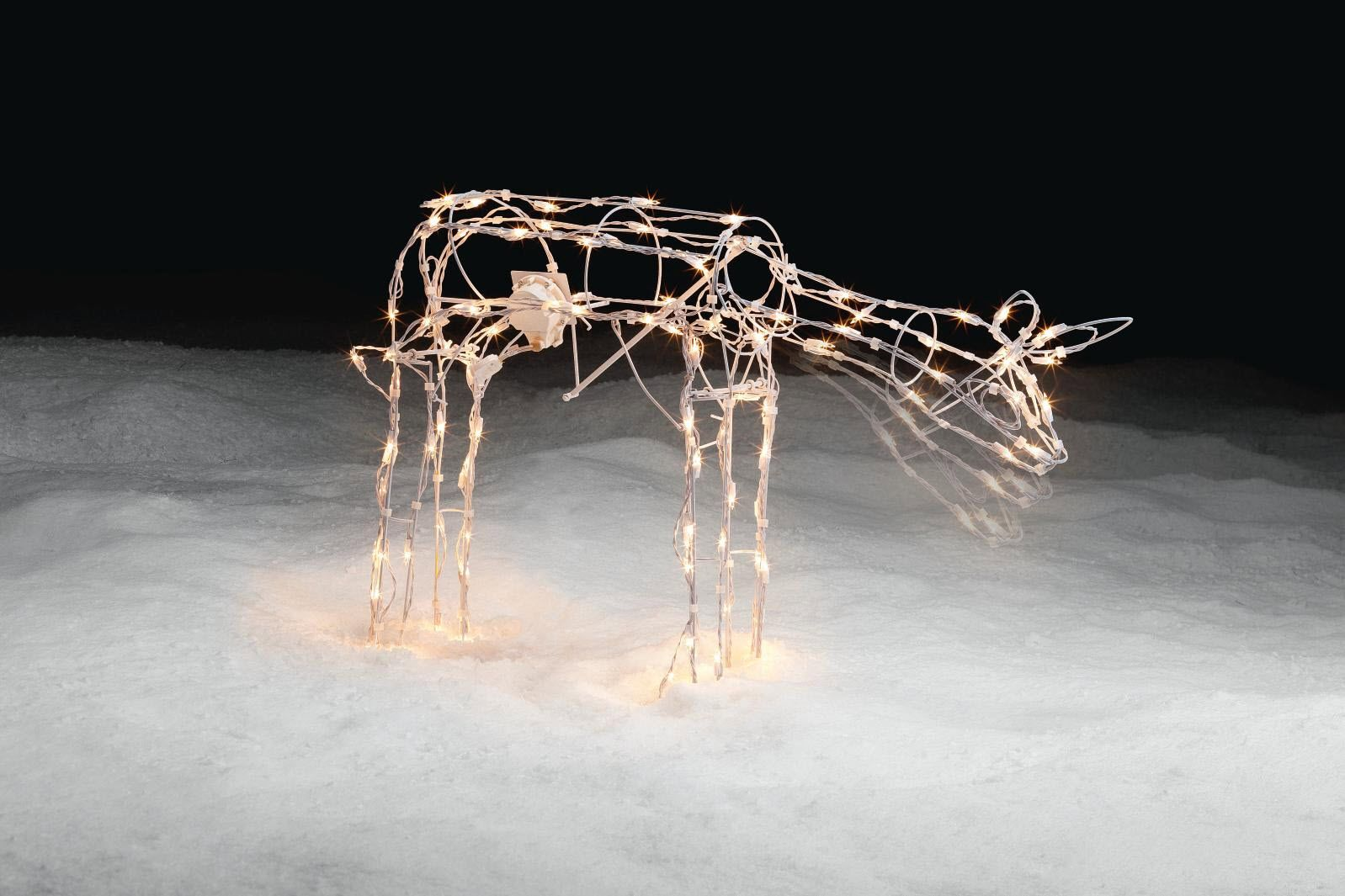 42in Christmas Animated Lighted Grazing Deer                                                                                     at mygofer.com