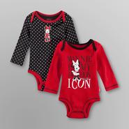 Disney Minnie Mouse Newborn Girl's Bodysuits - 2 Pack at Kmart.com