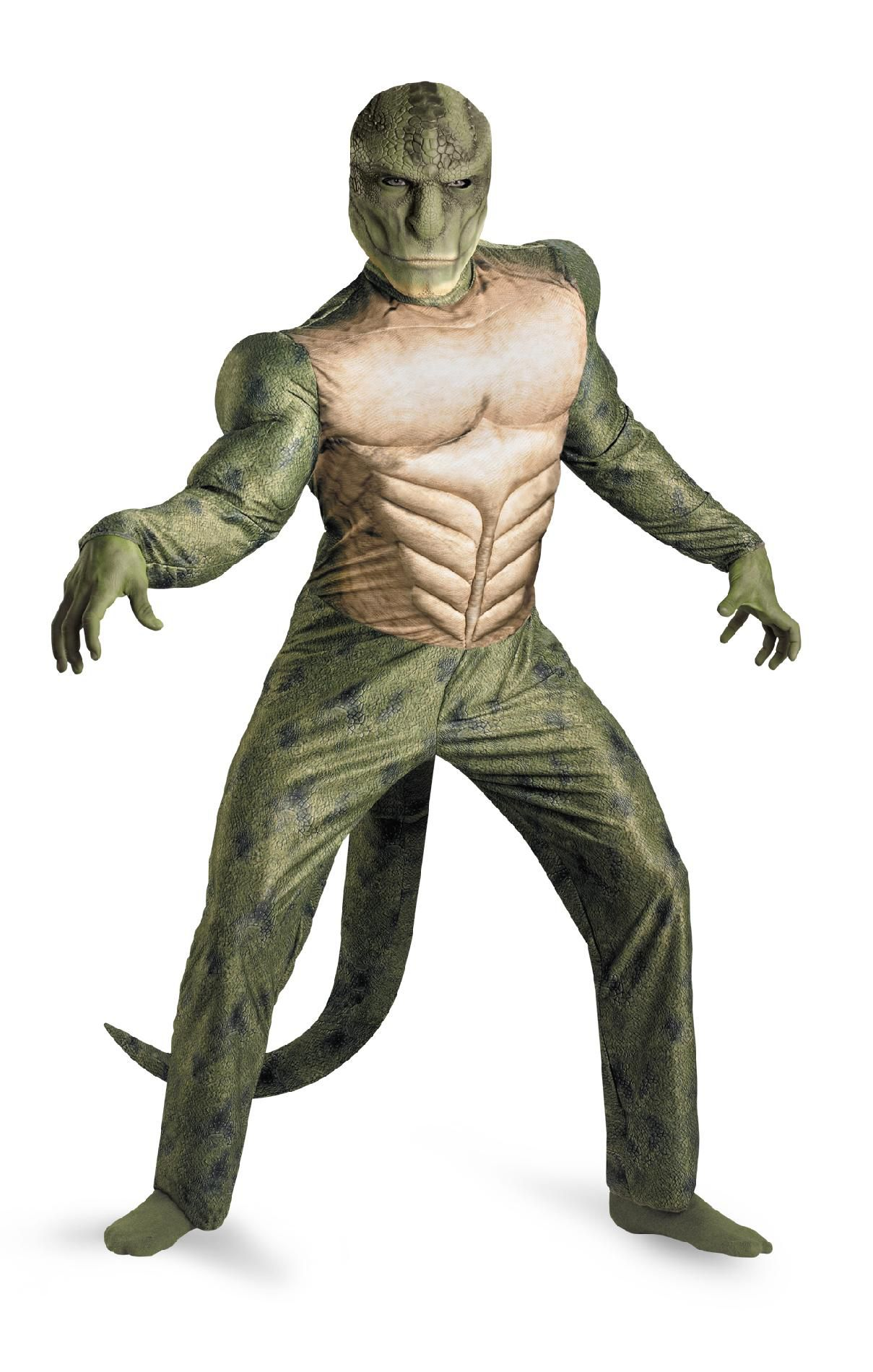 Morris Costumes Lizard Classic Muscle Ad 42-46 PartNumber: 009W005027204001P