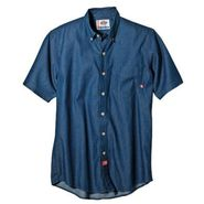 Dickies Short Sleeve Denim Work Shirt at Sears.com
