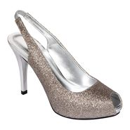Velvet Heart™ Women's Cabaret Dress Shoe - Silver at Sears.com