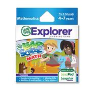 LeapFrog Explorer™ Learning Game: LeapSchool™ Math (works with LeapPad & Leapster Explorer) at Sears.com