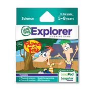 LeapFrog Explorer™ Learning Game: Disney Phineas and Ferb (works with LeapPad & Leapster Explorer) at Sears.com