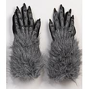 Totally Ghoul Werewolf Gloves - Gray at Kmart.com