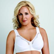 Exquisite Form Women's Cotton Front Close Posture Bra #5100531 at Sears.com