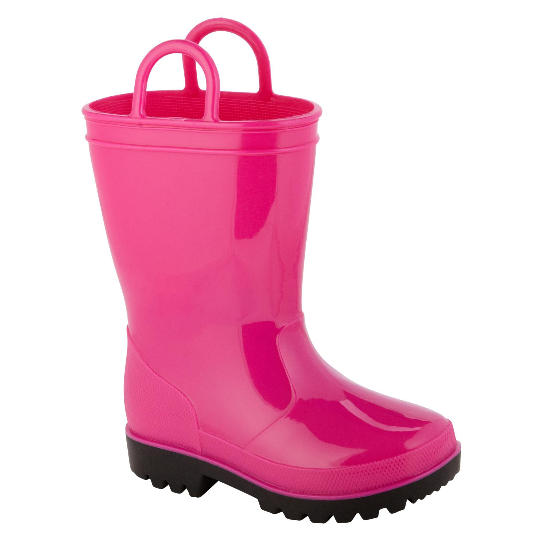 Joe Boxer  Toddler Arcade Rain Boot - Pink