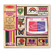 Melissa & Doug Friendship Stamp Set at Sears.com