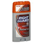 Right Guard Total Defense 5 PowerStripe Antiperspirant & Deodorant, Invisible Solid, Magnetic, 2.6 oz (73 g) at Kmart.com