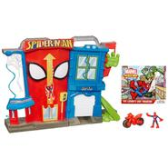 Playskool MARVEL SPIDER-MAN ADVENTURES PLAYSKOOL®* HEROES Electronic SPIDER-MAN STUNT CITY Playset at Kmart.com