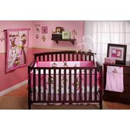 NoJo 3 Little Monkeys Girls 10pc Crib Set at Kmart.com
