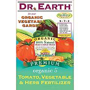 Dr. Earth Organic 5 Fert Tomato Vegetable Herb - 25 pound at Sears.com