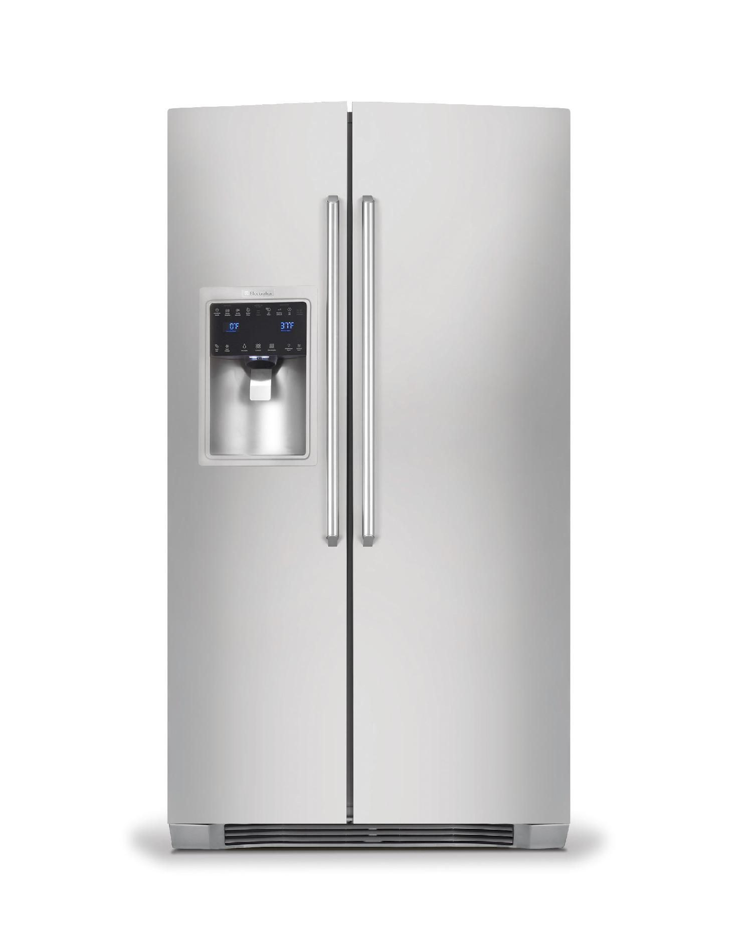 22.6 cu. ft. Counter-Depth Side-By-Side Refrigerator - Stainless Steel