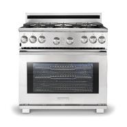"Electrolux 36"" Freestanding Gas Range - Stainless Steel at Sears.com"