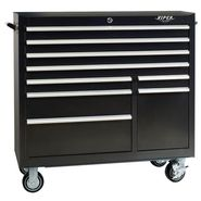 "Viper Tool Storage 41"" 9 Drawer 18G Steel Rolling Cabinet, Black at Sears.com"