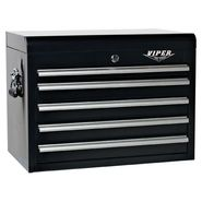 "Viper Tool Storage 26"" 5 Drawer 18G Steel Top Chest, Black at Sears.com"