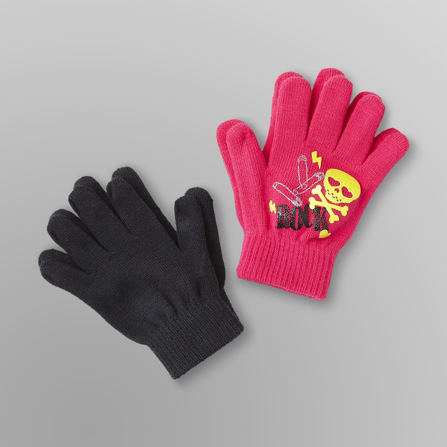 Joe Boxer  Girl's Stretch Gloves - Two