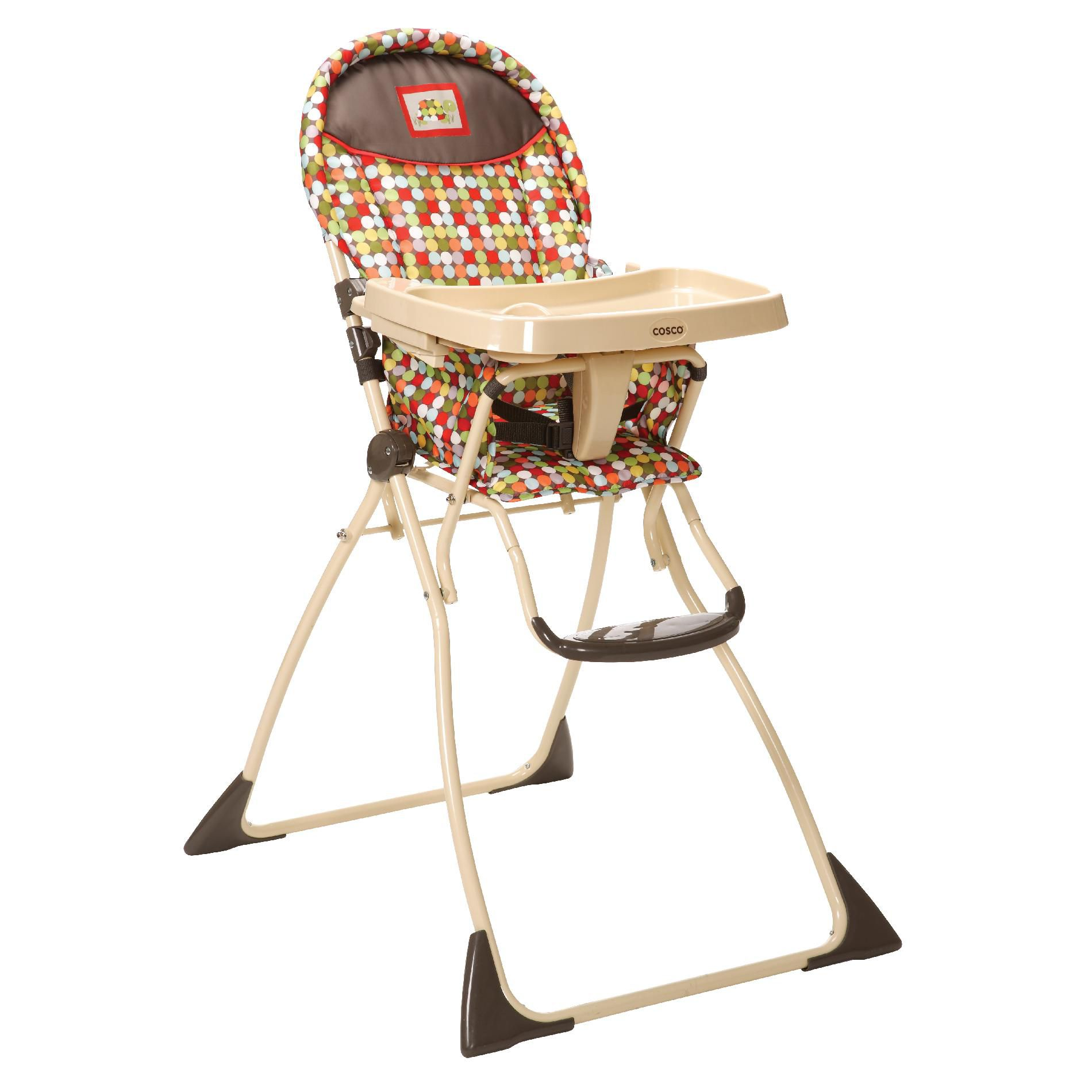 Calypso High Chair Slim Folding