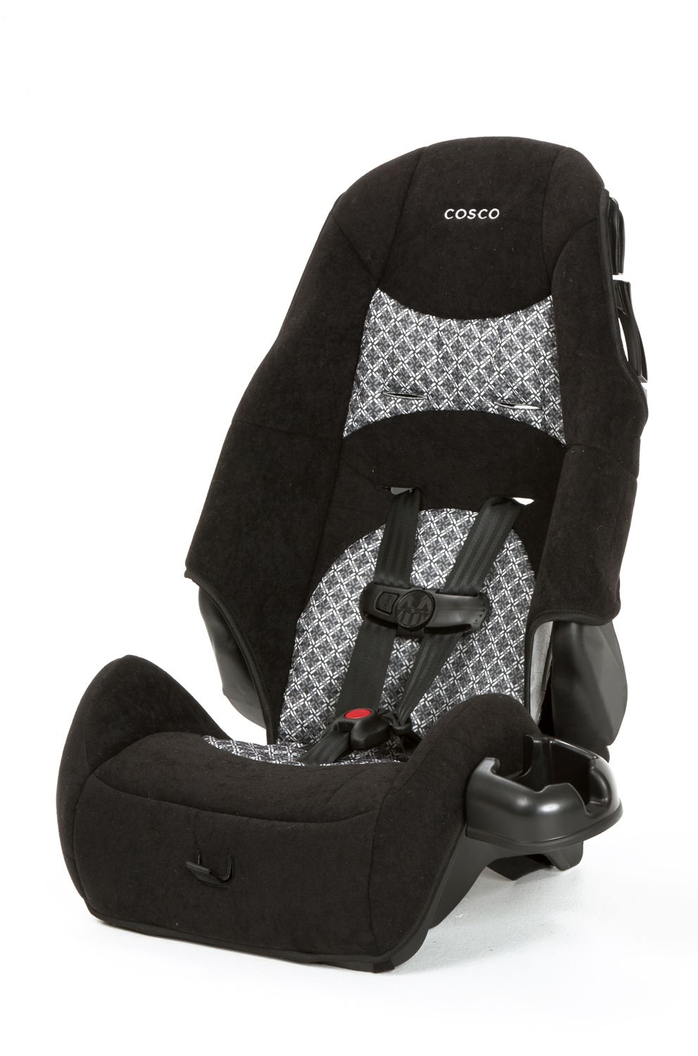 Booster Car Seat High Back Bannister Black
