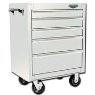 Viper Tool Storage 26-Inch 5 Drawer 18G Steel Rolling Cabinet, White at Sears.com