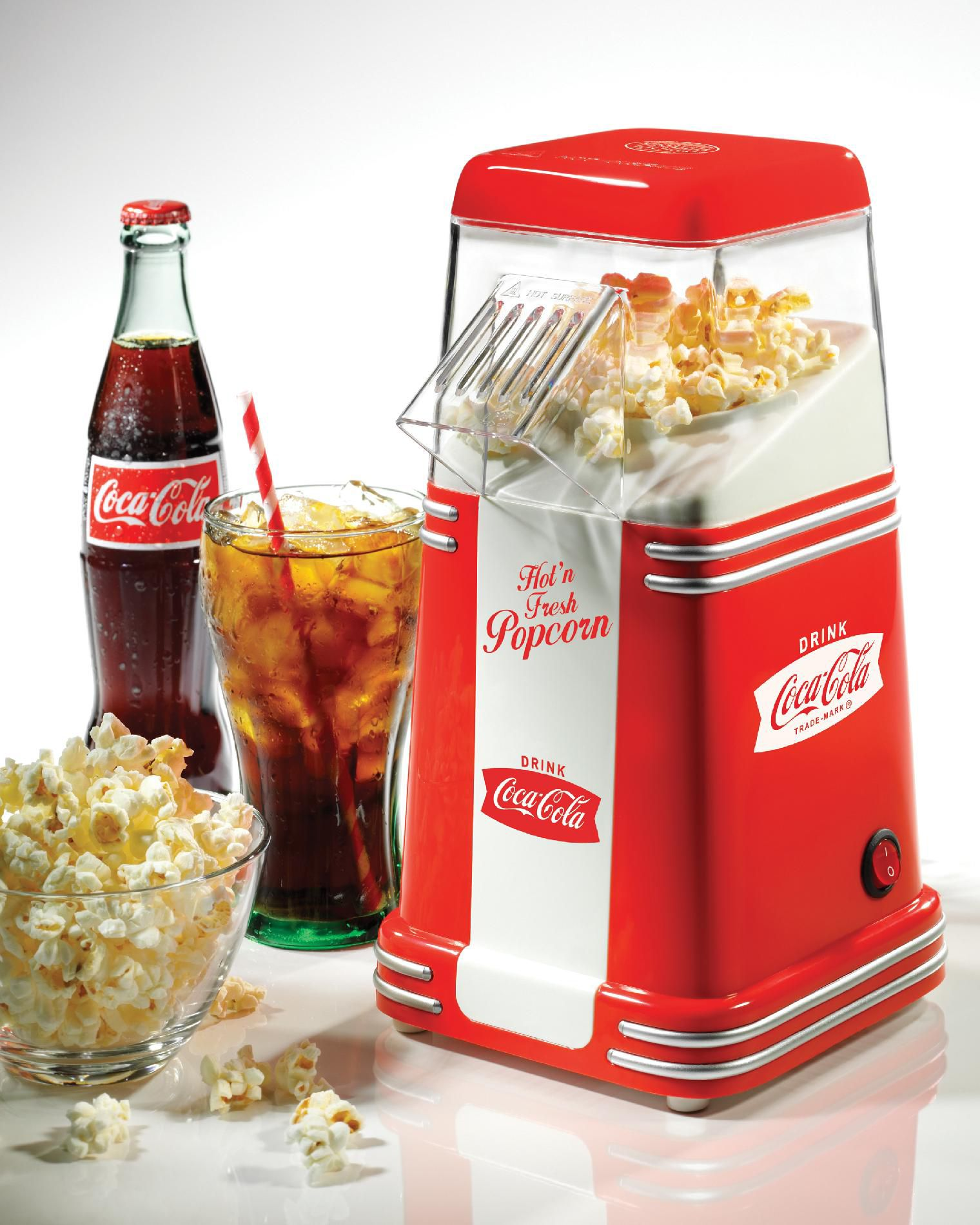 Nostalgia Electrics Hot Air Popper - Coca-Cola