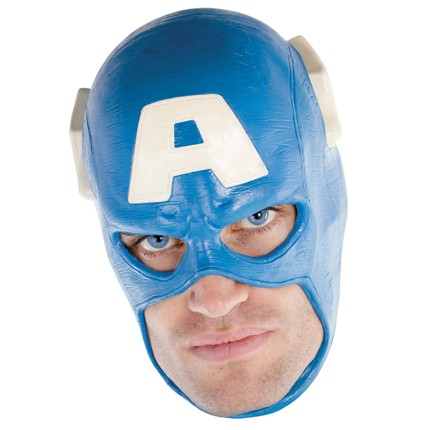 Captain America Dlx Mask Halloween Accessories