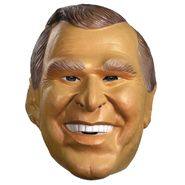 Disguise Bush Jr Mask Halloween Accessories at Kmart.com