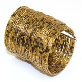 Sofia by Sofia Vergara Women's Bracelet Cuff Beaded Goldtone at mygofer.com