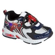 Character Toddler Boy's Spiderman Lighted Athletic Shoe - Black at Kmart.com