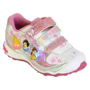 Disney Toddler Girl's Princess Light Up Athletic Shoe - Pink at Kmart.com