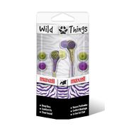 Maxell Wild Things Digital Ear Buds - Purple/Yellow Zebra at Kmart.com