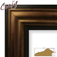 "Craig Frames Inc 8.5"" x 11"" Copper and Black Smooth Distressed Finish 3.015 Inch Wide Picture Frame (21307201) at Kmart.com"