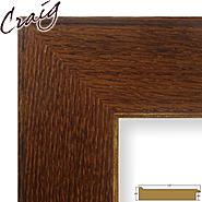 "Craig Frames Inc 24"" x 36"" Honey Brown Wood Grain Finish 3.5 Inch Wide Picture Frame (80573921) at Kmart.com"