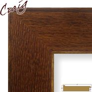 "Craig Frames Inc 20"" x 20"" Honey Brown Wood Grain Finish 3.5 Inch Wide Picture Frame (80573921) at Kmart.com"