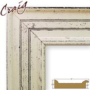 "Craig Frames Inc 8.5"" x 11"" Weathered Off-White Smooth Paint Finish 3 Inch Wide Picture Frame (81378600) at Kmart.com"